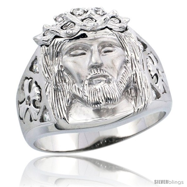 https://www.silverblings.com/6288-thickbox_default/sterling-silver-mens-thorn-crowned-jesus-christ-ring-brilliant-cut-cz-stones-3-4-in-18-mm-wide.jpg