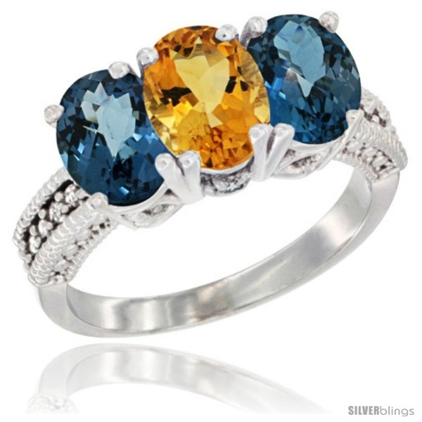 https://www.silverblings.com/63065-thickbox_default/10k-white-gold-natural-citrine-london-blue-topaz-sides-ring-3-stone-oval-7x5-mm-diamond-accent.jpg