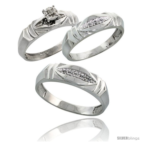 https://www.silverblings.com/63212-thickbox_default/sterling-silver-3-piece-trio-his-6mm-hers-5mm-diamond-wedding-band-set-w-0-09-carat-brilliant-cut-diamonds.jpg