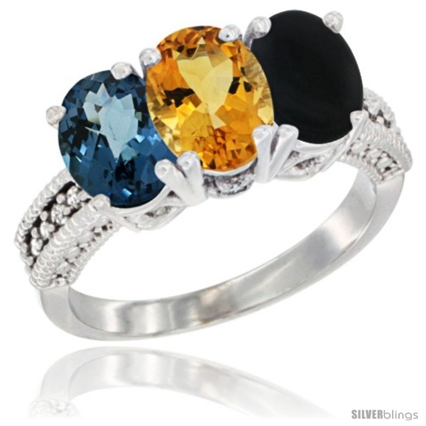 https://www.silverblings.com/63277-thickbox_default/10k-white-gold-natural-london-blue-topaz-citrine-black-onyx-ring-3-stone-oval-7x5-mm-diamond-accent.jpg