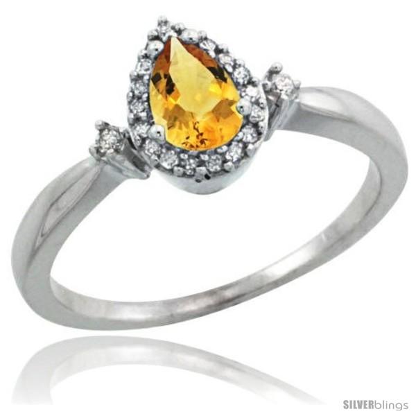 https://www.silverblings.com/63310-thickbox_default/10k-white-gold-diamond-citrine-ring-0-33-ct-tear-drop-6x4-stone-3-8-in-wide.jpg
