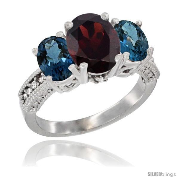 https://www.silverblings.com/63483-thickbox_default/10k-white-gold-ladies-natural-garnet-oval-3-stone-ring-london-blue-topaz-sides-diamond-accent.jpg