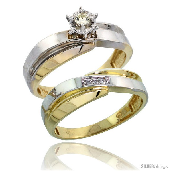https://www.silverblings.com/63571-thickbox_default/10k-yellow-gold-ladies-2-piece-diamond-engagement-wedding-ring-set-1-4-in-wide-style-ljy124e2.jpg
