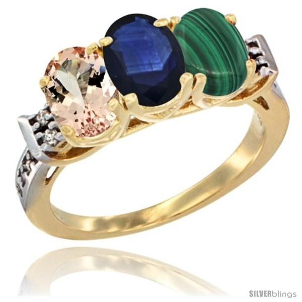 https://www.silverblings.com/63619-thickbox_default/10k-yellow-gold-natural-morganite-blue-sapphire-malachite-ring-3-stone-oval-7x5-mm-diamond-accent.jpg