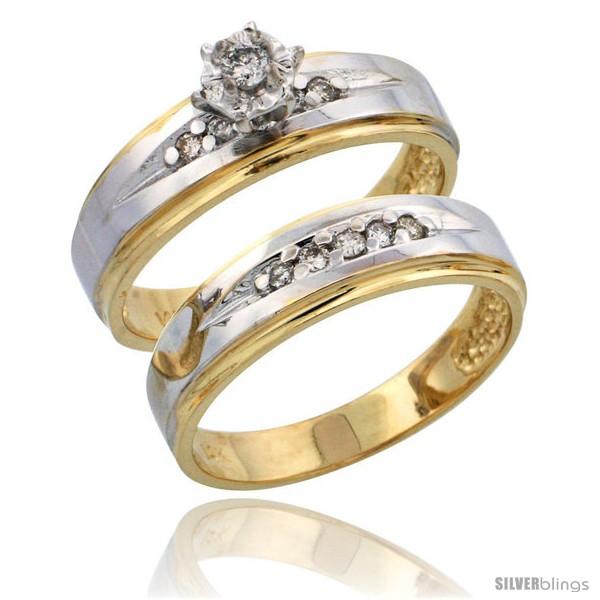 https://www.silverblings.com/6372-thickbox_default/14k-gold-2-piece-diamond-engagement-ring-set-w-rhodium-accent-w-0-20-carat-brilliant-cut-diamonds-3-16-in-5mm-wide.jpg