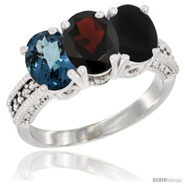 https://www.silverblings.com/63864-thickbox_default/10k-white-gold-natural-london-blue-topaz-garnet-black-onyx-ring-3-stone-oval-7x5-mm-diamond-accent.jpg