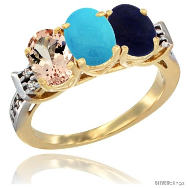 https://www.silverblings.com/64156-thickbox_default/10k-yellow-gold-natural-morganite-turquoise-lapis-ring-3-stone-oval-7x5-mm-diamond-accent.jpg