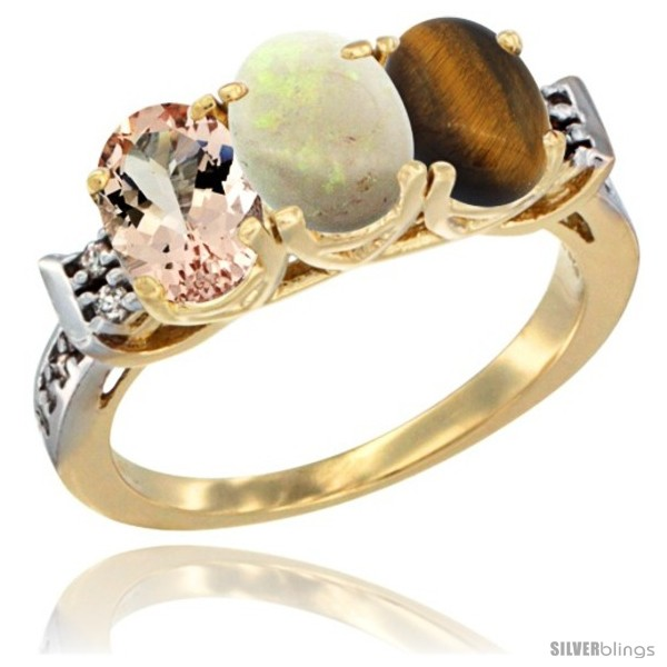 https://www.silverblings.com/64164-thickbox_default/10k-yellow-gold-natural-morganite-opal-tiger-eye-ring-3-stone-oval-7x5-mm-diamond-accent.jpg
