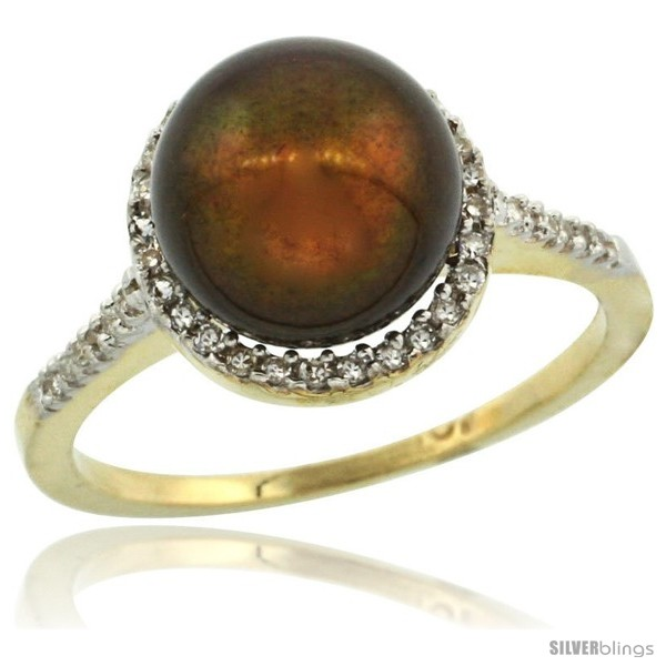 https://www.silverblings.com/64248-thickbox_default/10k-gold-halo-engagement-8-5-mm-brown-pearl-ring-w-0-146-carat-brilliant-cut-diamonds-7-16-in-11mm-wide.jpg