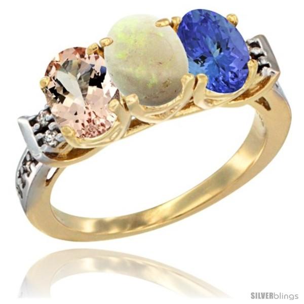 https://www.silverblings.com/64336-thickbox_default/10k-yellow-gold-natural-morganite-opal-tanzanite-ring-3-stone-oval-7x5-mm-diamond-accent.jpg