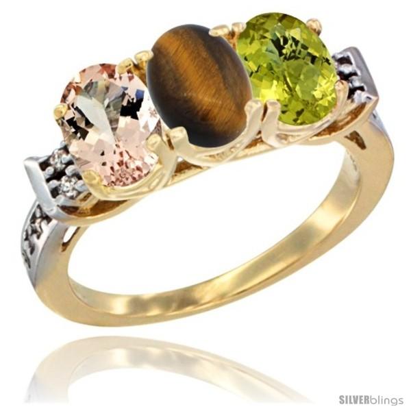 https://www.silverblings.com/64342-thickbox_default/10k-yellow-gold-natural-morganite-tiger-eye-lemon-quartz-ring-3-stone-oval-7x5-mm-diamond-accent.jpg