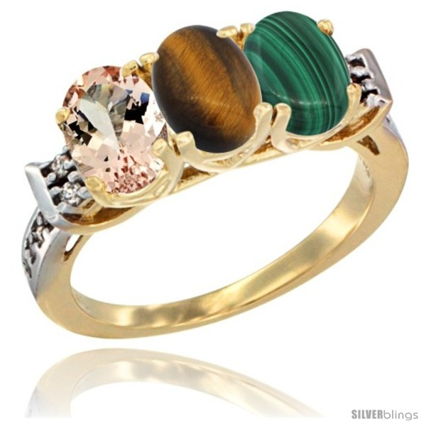 https://www.silverblings.com/64578-thickbox_default/10k-yellow-gold-natural-morganite-tiger-eye-malachite-ring-3-stone-oval-7x5-mm-diamond-accent.jpg