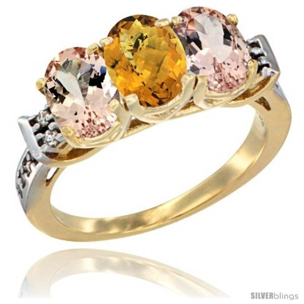 https://www.silverblings.com/64582-thickbox_default/10k-yellow-gold-natural-whisky-quartz-morganite-sides-ring-3-stone-oval-7x5-mm-diamond-accent.jpg