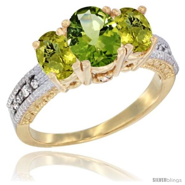 https://www.silverblings.com/64598-thickbox_default/14k-yellow-gold-ladies-oval-natural-peridot-3-stone-ring-lemon-quartz-sides-diamond-accent.jpg