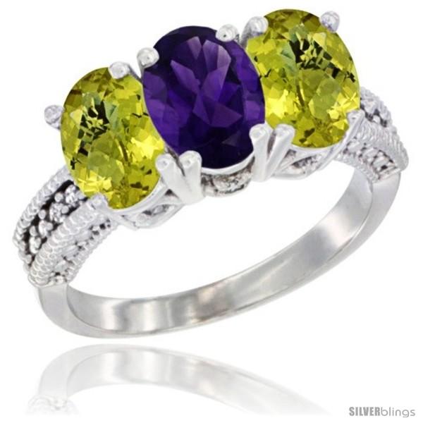 https://www.silverblings.com/64676-thickbox_default/14k-white-gold-natural-amethyst-ring-lemon-quartz-3-stone-7x5-mm-oval-diamond-accent.jpg