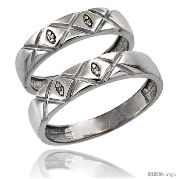 https://www.silverblings.com/64696-thickbox_default/sterling-silver-2-pc-his-5mm-hers-4-5mm-diamond-wedding-ring-band-set-w-0-026-carat-brilliant-cut-diamonds.jpg