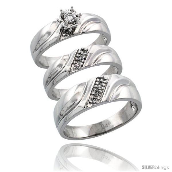 https://www.silverblings.com/64724-thickbox_default/14k-white-gold-3-piece-trio-his-7mm-hers-5mm-diamond-wedding-ring-band-set-w-0-26-carat-brilliant-cut-diamonds.jpg