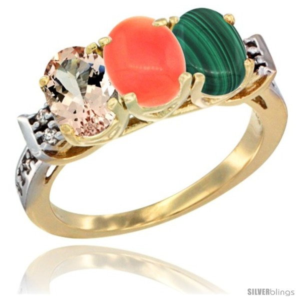 https://www.silverblings.com/64950-thickbox_default/10k-yellow-gold-natural-morganite-coral-malachite-ring-3-stone-oval-7x5-mm-diamond-accent.jpg