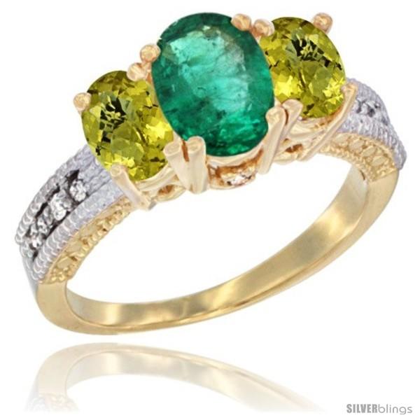 https://www.silverblings.com/65401-thickbox_default/14k-yellow-gold-ladies-oval-natural-emerald-3-stone-ring-lemon-quartz-sides-diamond-accent.jpg