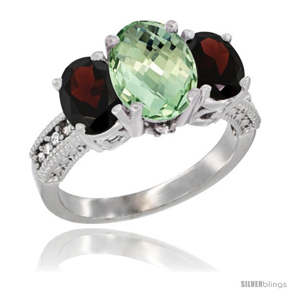 https://www.silverblings.com/65646-thickbox_default/10k-white-gold-ladies-natural-green-amethyst-oval-3-stone-ring-garnet-sides-diamond-accent.jpg