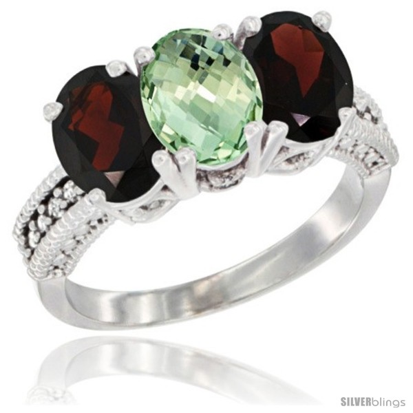 https://www.silverblings.com/65649-thickbox_default/10k-white-gold-natural-green-amethyst-garnet-sides-ring-3-stone-oval-7x5-mm-diamond-accent.jpg