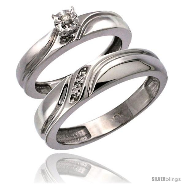 https://www.silverblings.com/65896-thickbox_default/14k-white-gold-2-pc-diamond-ring-set-4mm-engagement-ring-5mm-mans-wedding-band-w-0-049-carat-brilliant-cut-diamonds.jpg