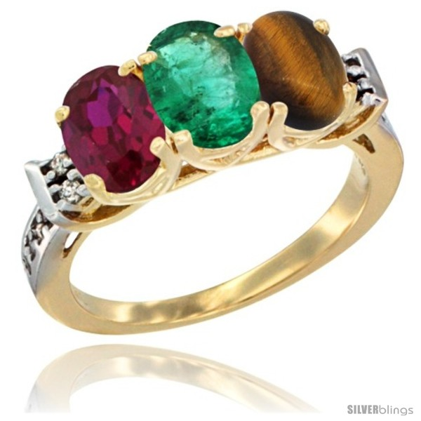 https://www.silverblings.com/66065-thickbox_default/10k-yellow-gold-natural-ruby-emerald-tiger-eye-ring-3-stone-oval-7x5-mm-diamond-accent.jpg