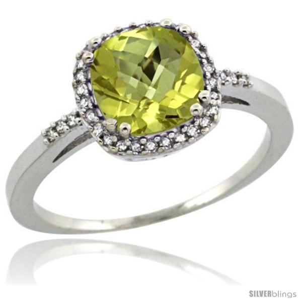 https://www.silverblings.com/66196-thickbox_default/14k-white-gold-diamond-lemon-quartz-ring-1-5-ct-checkerboard-cut-cushion-shape-7-mm-3-8-in-wide.jpg