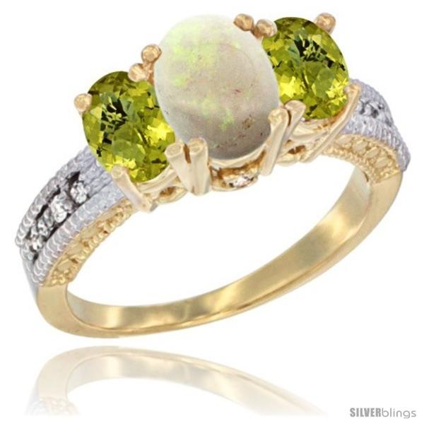 https://www.silverblings.com/66256-thickbox_default/14k-yellow-gold-ladies-oval-natural-opal-3-stone-ring-lemon-quartz-sides-diamond-accent.jpg