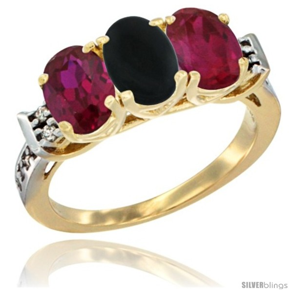 https://www.silverblings.com/66598-thickbox_default/10k-yellow-gold-natural-black-onyx-ruby-sides-ring-3-stone-oval-7x5-mm-diamond-accent.jpg