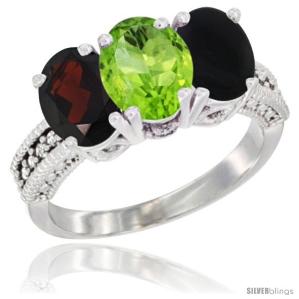 https://www.silverblings.com/66668-thickbox_default/10k-white-gold-natural-garnet-peridot-black-onyx-ring-3-stone-oval-7x5-mm-diamond-accent.jpg