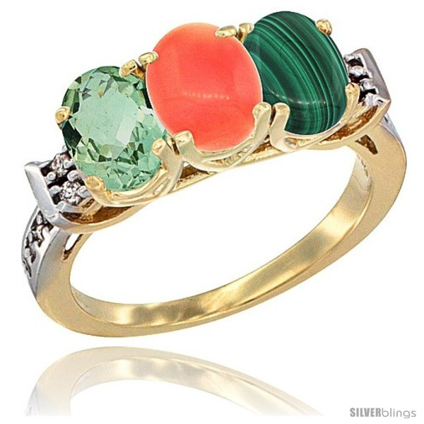 https://www.silverblings.com/6696-thickbox_default/10k-yellow-gold-natural-green-amethyst-coral-malachite-ring-3-stone-oval-7x5-mm-diamond-accent.jpg