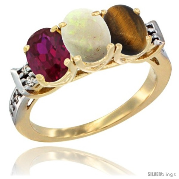 https://www.silverblings.com/67119-thickbox_default/10k-yellow-gold-natural-ruby-opal-tiger-eye-ring-3-stone-oval-7x5-mm-diamond-accent.jpg