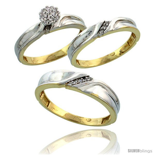 https://www.silverblings.com/6877-thickbox_default/10k-yellow-gold-diamond-trio-engagement-wedding-ring-3-piece-set-for-him-her-5-mm-3-5-mm-wide-0-11-cttw-brilliant-cut.jpg