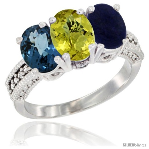 https://www.silverblings.com/68945-thickbox_default/10k-white-gold-natural-london-blue-topaz-coral-lapis-ring-3-stone-oval-7x5-mm-diamond-accent.jpg