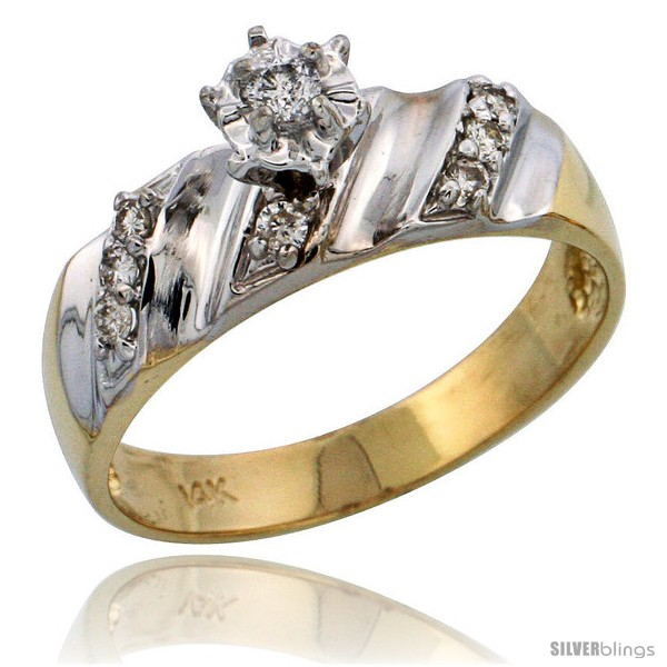 https://www.silverblings.com/6897-thickbox_default/14k-gold-diamond-engagement-ring-w-rhodium-accent-w-0-18-carat-brilliant-cut-diamonds-1-4-in-6mm-wide.jpg