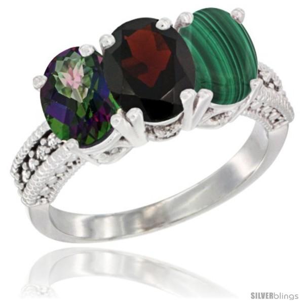 https://www.silverblings.com/69217-thickbox_default/14k-white-gold-natural-mystic-topaz-garnet-malachite-ring-3-stone-7x5-mm-oval-diamond-accent.jpg