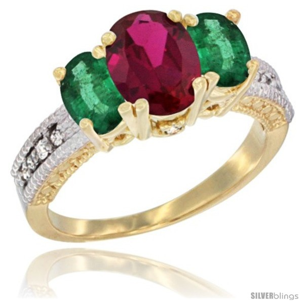 https://www.silverblings.com/69961-thickbox_default/10k-yellow-gold-ladies-oval-natural-ruby-3-stone-ring-emerald-sides-diamond-accent.jpg