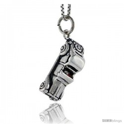 Sterling Silver Vintage Car Pendant, 3/4 in tall -Style Pa1665