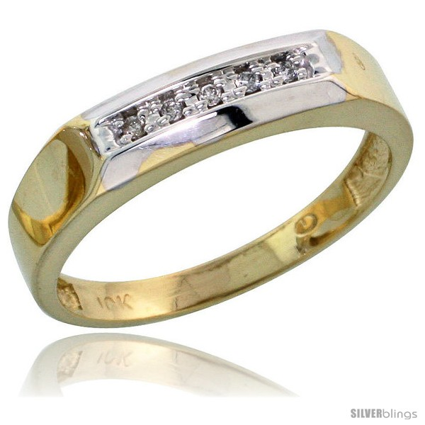 https://www.silverblings.com/7004-thickbox_default/10k-yellow-gold-ladies-diamond-wedding-band-ring-0-03-cttw-brilliant-cut-3-16-in-wide-style-10y009lb.jpg