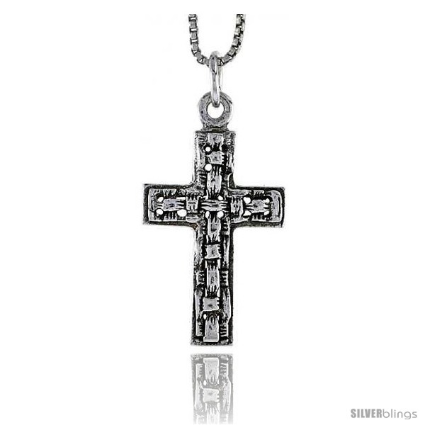 https://www.silverblings.com/70105-thickbox_default/sterling-silver-latin-cross-pendant-1-in-tall-style-pa1695.jpg