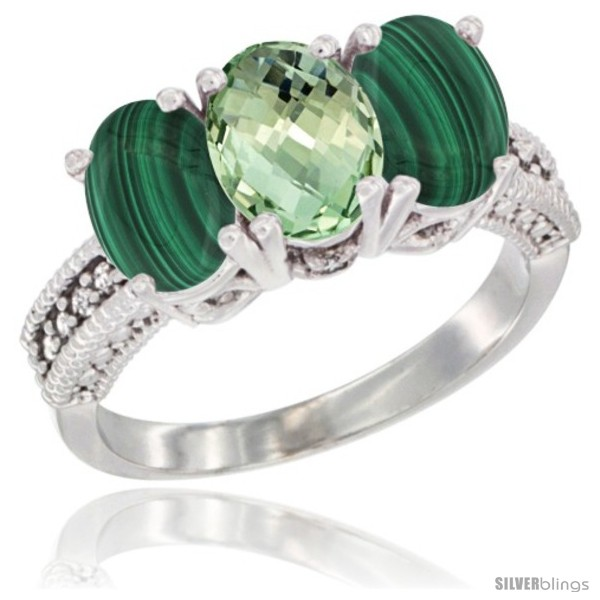 https://www.silverblings.com/71149-thickbox_default/14k-white-gold-natural-green-amethyst-ring-malachite-3-stone-7x5-mm-oval-diamond-accent.jpg