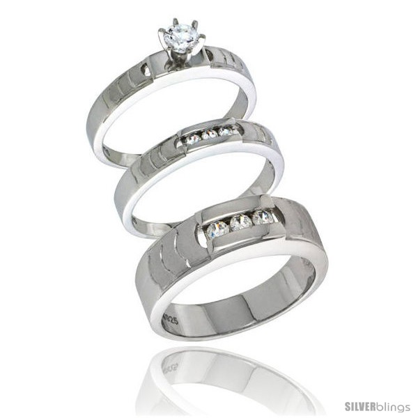 https://www.silverblings.com/71308-thickbox_default/sterling-silver-cubic-zirconia-trio-engagement-wedding-ring-set-for-him-her-mens-band-1-4-in-wide-l-5-style-agcz623w3.jpg