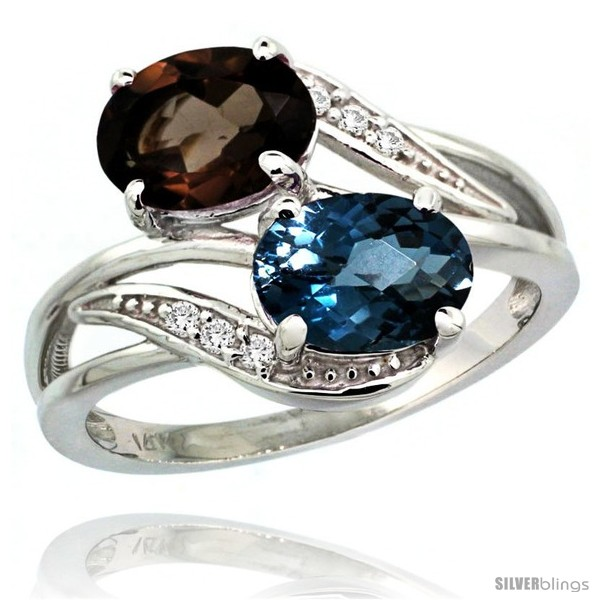 https://www.silverblings.com/720-thickbox_default/14k-white-gold-8x6-mm-double-stone-engagement-london-blue-smoky-topaz-ring-w-0-07-carat-brilliant-cut-diamonds-2-34.jpg