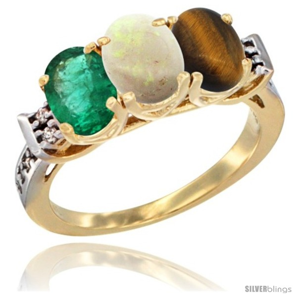 https://www.silverblings.com/72080-thickbox_default/10k-yellow-gold-natural-emerald-opal-tiger-eye-ring-3-stone-oval-7x5-mm-diamond-accent.jpg