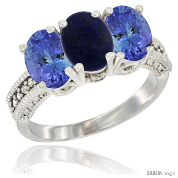 https://www.silverblings.com/73327-thickbox_default/14k-white-gold-natural-lapis-ring-tanzanite-3-stone-7x5-mm-oval-diamond-accent.jpg
