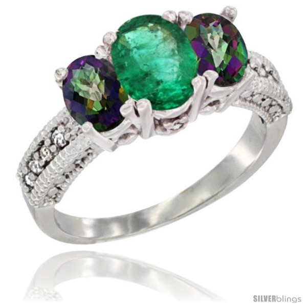 https://www.silverblings.com/73708-thickbox_default/14k-white-gold-ladies-oval-natural-emerald-3-stone-ring-mystic-topaz-sides-diamond-accent.jpg