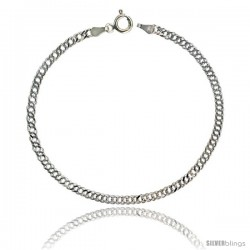 Sterling Silver Rombo Chain 3mm Nickel Free