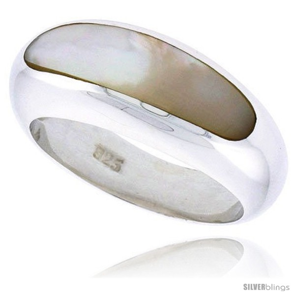 https://www.silverblings.com/7430-thickbox_default/sterling-silver-concaved-ladies-ring-w-mother-of-pearl-5-16-9-mm-wide.jpg