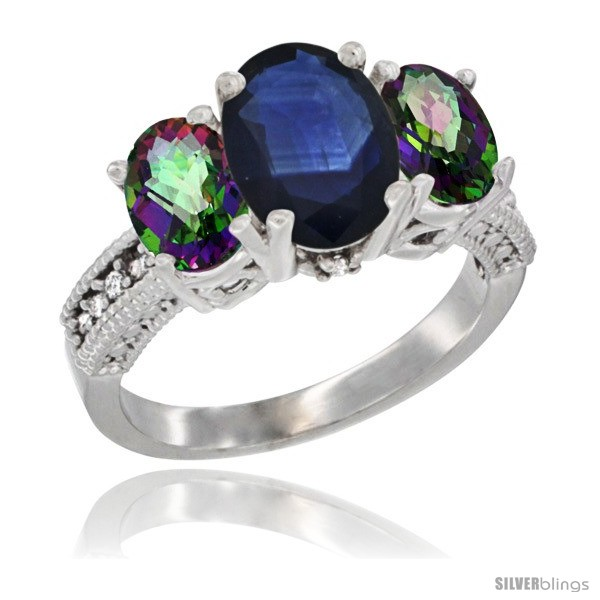https://www.silverblings.com/74834-thickbox_default/14k-white-gold-ladies-3-stone-oval-natural-blue-sapphire-ring-mystic-topaz-sides-diamond-accent.jpg